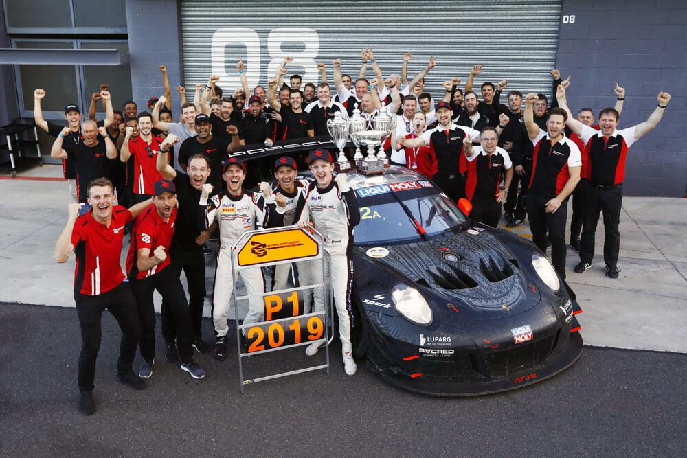 Porsche 911 GT3 R wins farewell race
