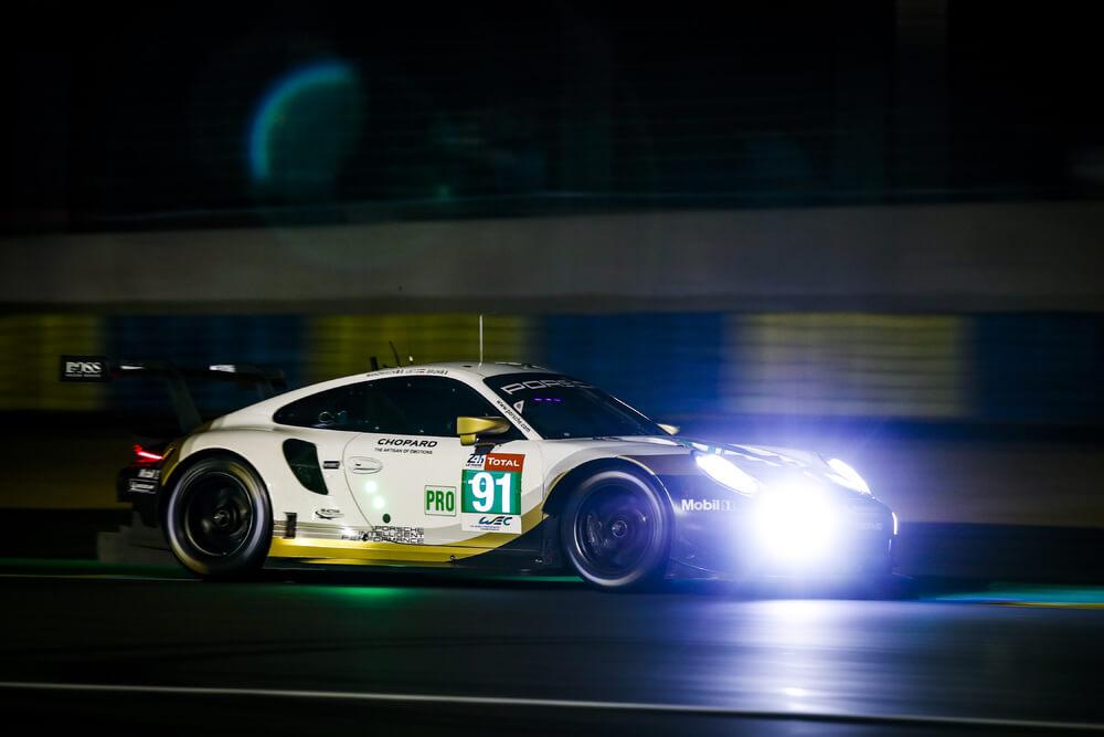 Porsche GT Team displays strong team effort in first qualifying