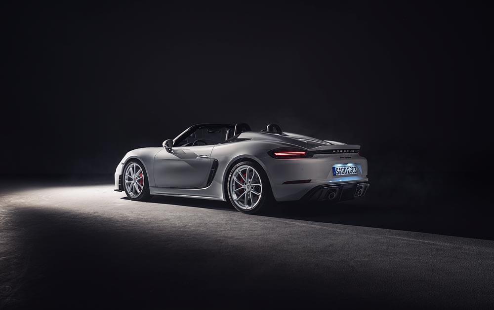 New Porsche 718 Spyder and 718 Cayman GT4 unveiled