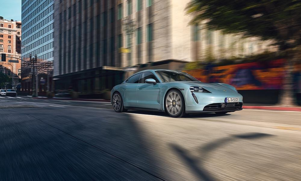 New Taycan 4S joins line-up of innovative electric sports cars from Porsche