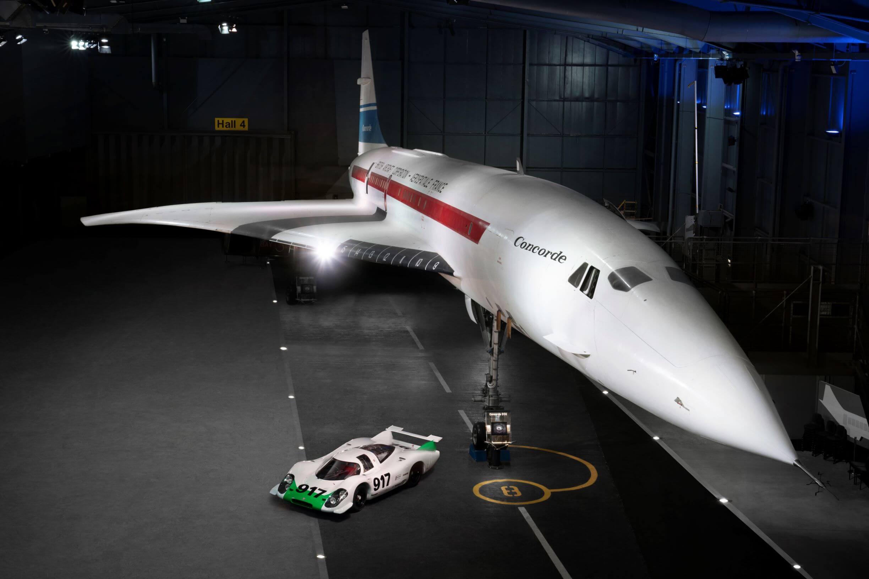 Porsche met Concord