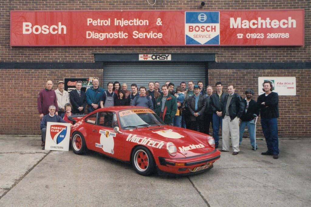 Machtech Porsche specialists