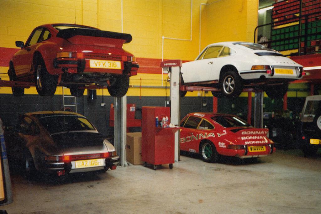 Machtech Porsche servicing