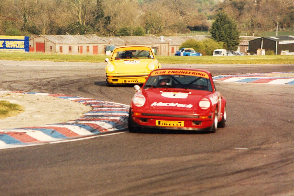 Machtech Porsche racing