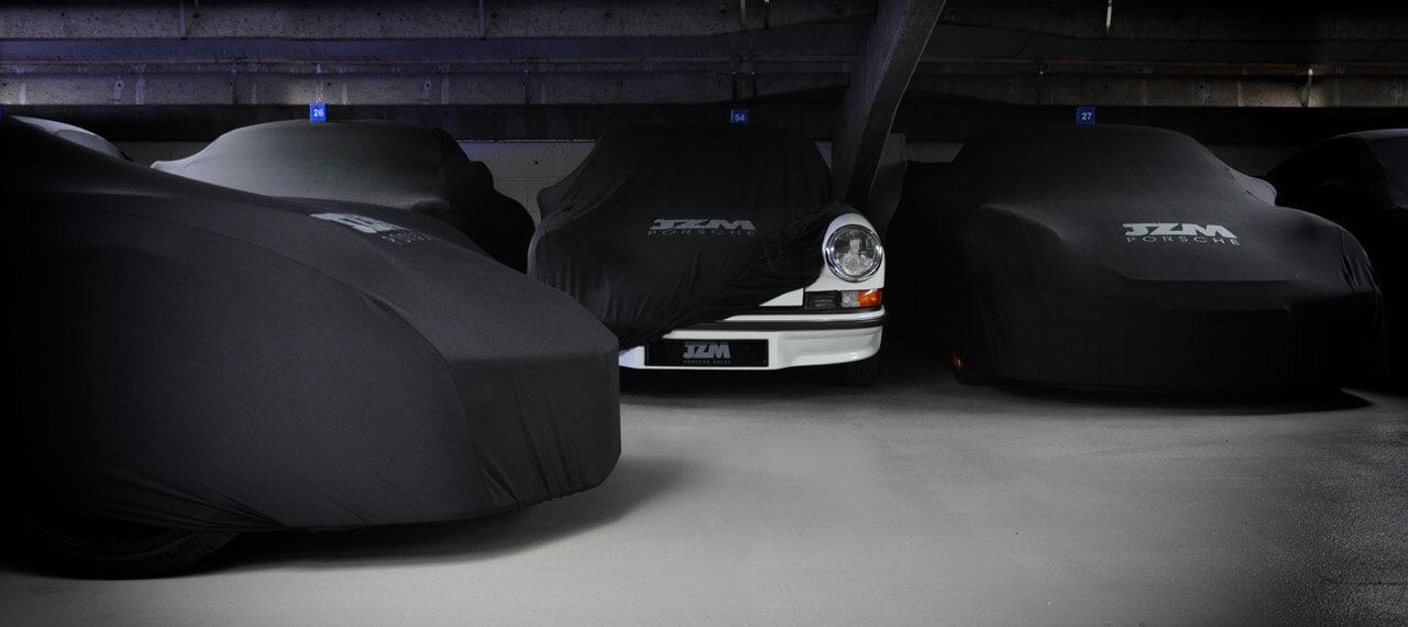 Porsche storage at JZM